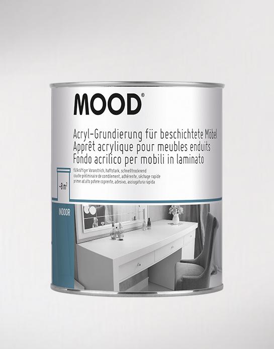 Acryl-Grundierung für beschichtete Möbel