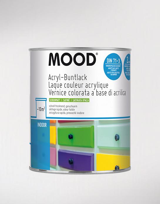 Acryl-Buntlack