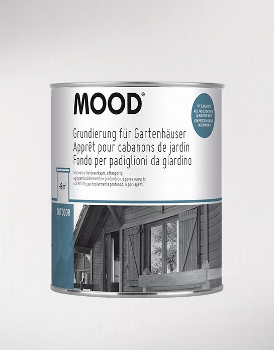 Grundierung für Gartenhäuser