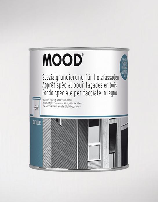 Spezialgrundierung für Holzfassaden